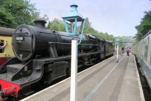 black 5  coming in  Grosmont NYMR by Sceptre63