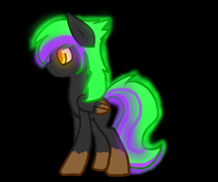 Neon Pony for Sachiku by Le-Poofe