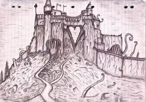 Red Queens Castle by kingiusti