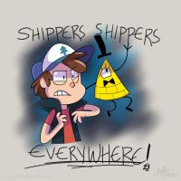 SHIPPERS SHIPPERS EVERYWHERE! by DragonInkMarkers