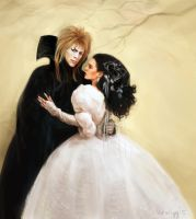 jareth and sarah by Herwigg