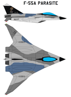 F-55A Parasite by bagera3005
