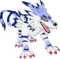 Garurumon by NekoHime07