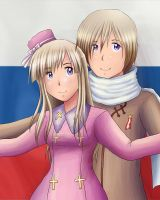 Russia x fem!Russua by Penguin-Judge