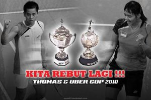Piala Thomas dan Uber 2010 by ayom52