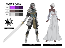 Verrona character sheet by THE-DARK-MIA