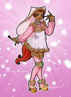 Disney Enchanted Girls: Maid Marian by van-etheran