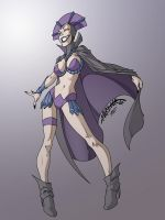 Evil-Lyn by mediocre-mind