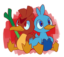 Ducks by AlphaRoo
