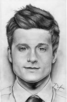 Josh Hutcherson by lenaleigh