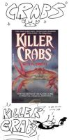 Ugly Book Covers: Crabs Collection by RomanJones