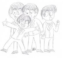 The Beatles by buttonstar