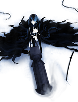 Black Rock Shooter 2 by daniwae