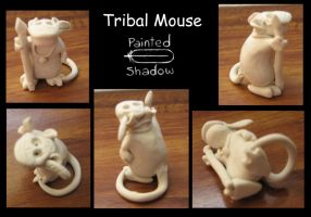 Tribal Mouse by Painted-Shadow