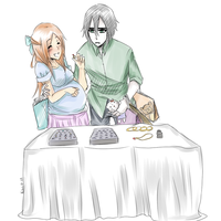 Day 8 - UlquiHime OTP Challenge- Shopping by keitoz