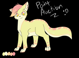 Point Adoptable Auction! *Sold* by MissKittens