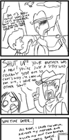 MOTHER 4komas - Manliness by Marcotto
