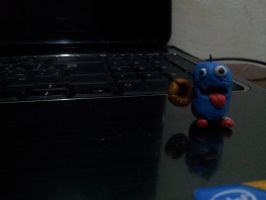 the little clay monster T by manar1