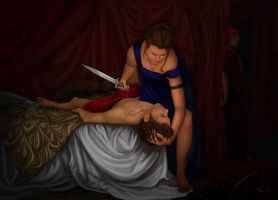 Judith and Holofernes by Thianari