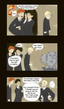 The Real Secret About Malfoy by uppuN
