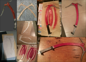 Making of: Tombraider Climbing Axe by Libjumper