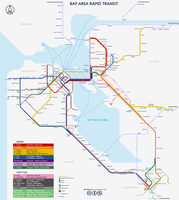 San Francisco subway map by qweqwe321