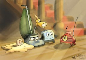 The Brave Little Toaster. by joseclaudio1994