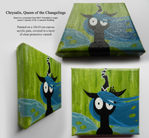 MLP: Chrysalis Painting by Cursed-Midna