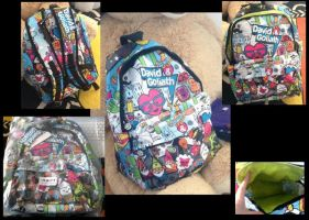 New David and Goliath Bag by Horsey-Luver450