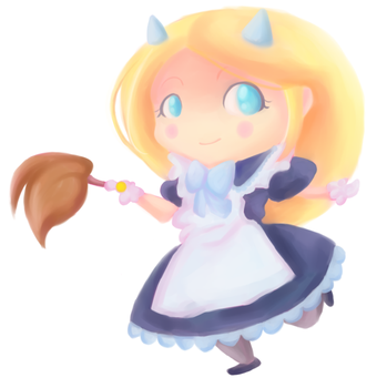 Maid Diva by mintyzombie