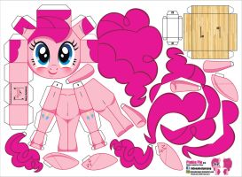 Pinkie Pie (Joinys 010) by ELJOEYDESIGNS