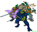 TMNT The Future Guys TBOTS ver by theblindalley
