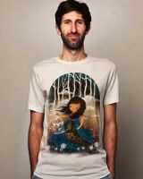 There Once Was A Girl In A Whimsical Land MOCK up by dandingeroz