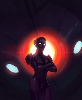 [ME3 spoilerth] no shepard you are the reapers by makani