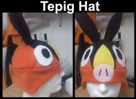 Tepig Hat by Tez-Taylor