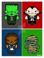 Monster Squad by EddieHolly