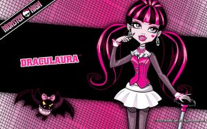 Draculaura Monster high by Starfire9821