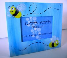 Bee Frame by blankearthdesign