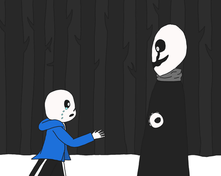 Sans And Gaster by AGuardianOfDreams