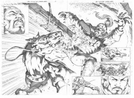 Red Sonja#68_ Page 14,15 by MARCIOABREU7