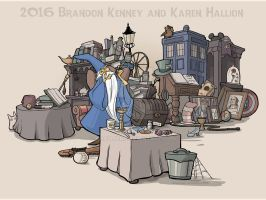 Collection of Curiosities by khallion