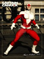 Captain Canuck by Sharby