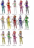 Neo Star Scouts of the Zodiac by gothicpysi