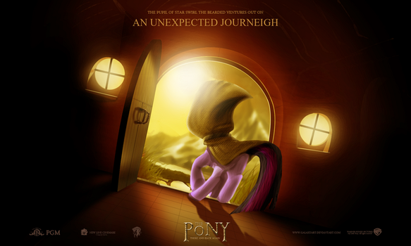 The Pony: An Unexpected Journeigh by Galaxyart