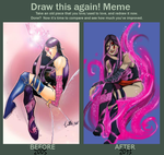 Draw me Again Meme by UltimateTattts
