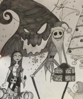 The Nightmare Before Christmas by LovelyLiar