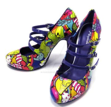 Party Party Time Pumps by marywinkler