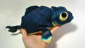 OOAK Little Blue 2 by WithPencilInHand