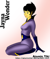 Jayna Wonder Twin by AtomicTiki