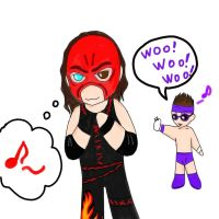 WWE's Kane by sweety9547